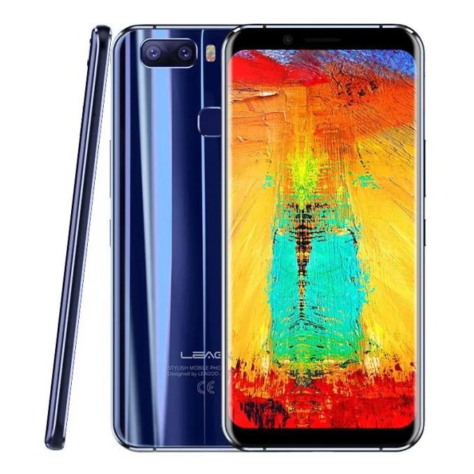banggood LEAGOO S8 Pro MTK6757T Helio P25 2.5GHz 8コア BLUE(ブルー)