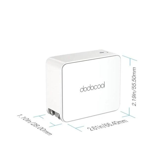 dodocool USB Type-Cアダプタ サイズ