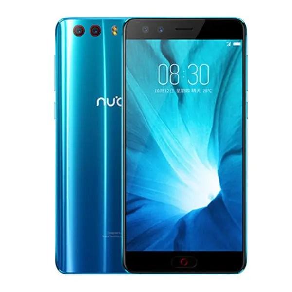 banggood ZTE Nubia Z17 mini S Snapdragon 653 MSM8976SG 1.8GHz 8コア BLUE(ブルー)