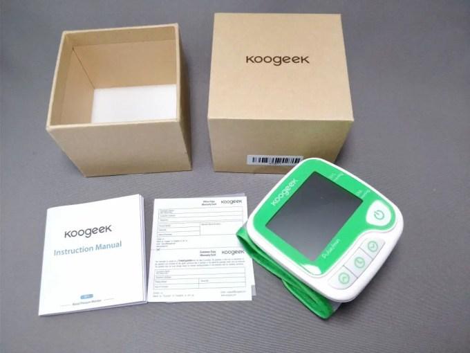 Koogeek スマート血圧計(手首式)3
