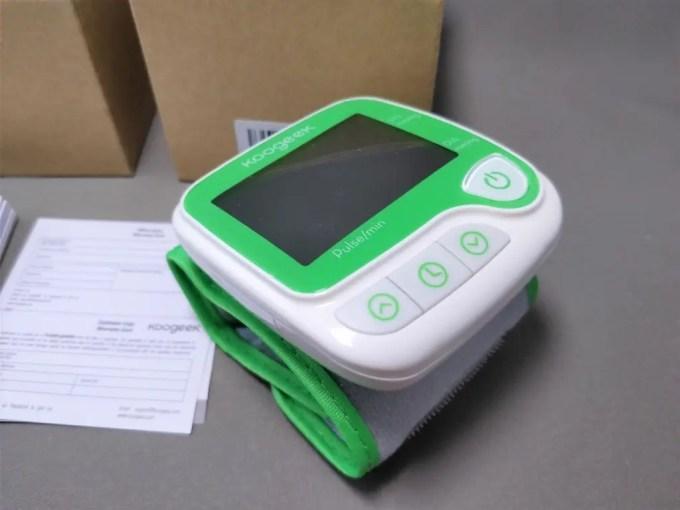 Koogeek スマート血圧計(手首式)2