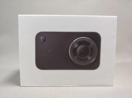 Xiaomi Mijia Camera Mini アクションカメラ 化粧箱 表