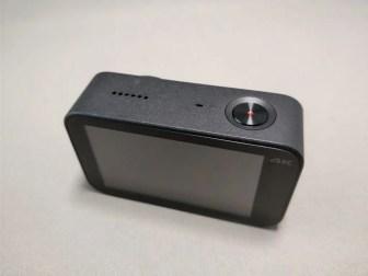 Xiaomi Mijia Camera Mini アクションカメラ 外観 裏ななめ