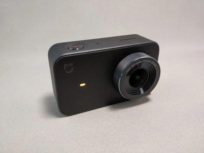 Xiaomi Mijia Camera Mini アクションカメラ  外観 前