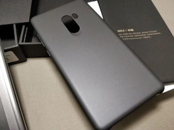 Xiaomi Mi MIX 2 付属品 ケース