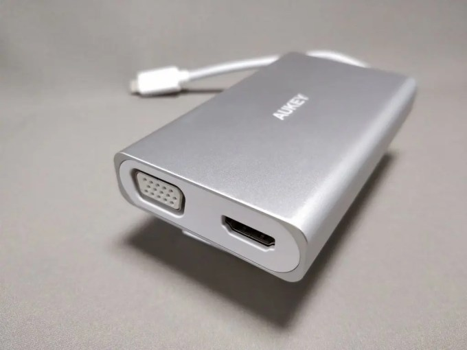 Aukey USB-C PD ハブ CB-C55 HDMI