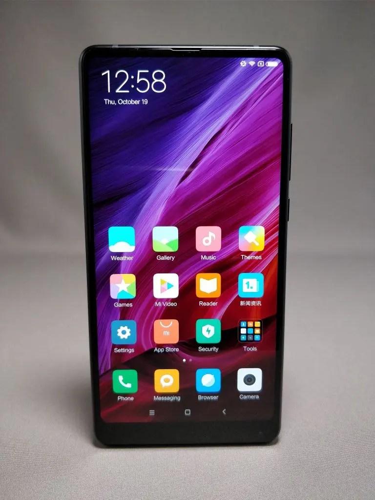 Xiaomi Mi MIX 2 表 6