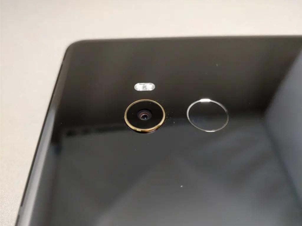 Xiaomi Mi MIX 2 リアカメラ 横