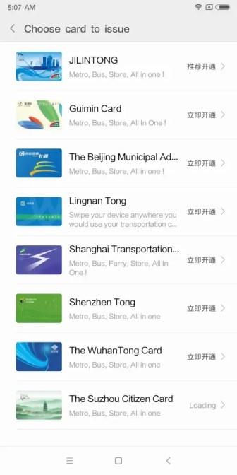 Xiaomi Mi MIX 2 Mi Wallet Transport2