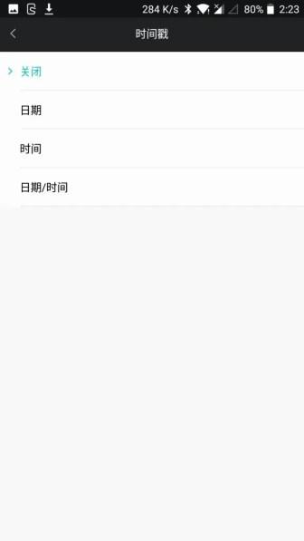 Xiaomi Mijia Camera Mini アクションカメラ モード設定8