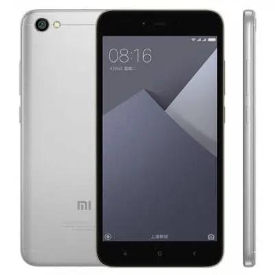 gearbest Xiaomi Redmi Note 5A Snapdragon 435 MSM8940 1.4GHz 8コア GRAY(グレイ)