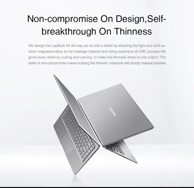 Chuwi LapBook Air ベンチマーク 商品画像4