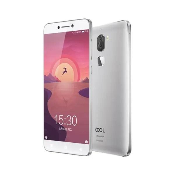 banggood LeEco Coolpad Cool1 Snapdragon 652 MSM8976 1.8GHz 8コア SILVER(シルバー)