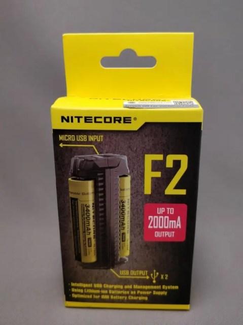 NITECORE F2 化粧箱