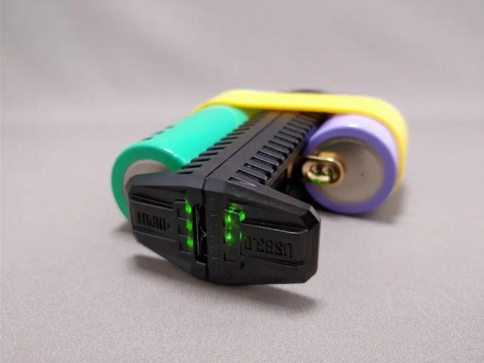 NITECORE F2 電池残量