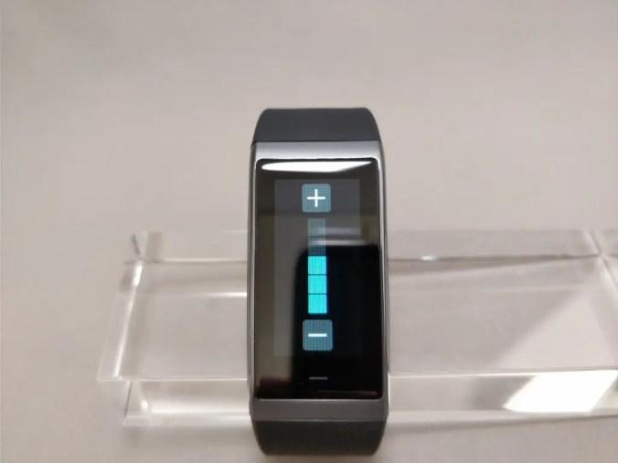 Xiaomi AMAZFIT Heart Rate Smartband スワイプ ボリューム