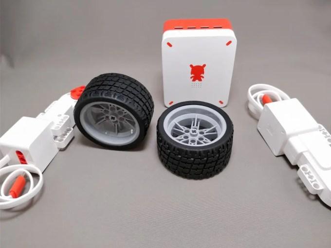 Xiaomi MITU DIY 自立走行ロボ 組み立て レビュー タイヤ