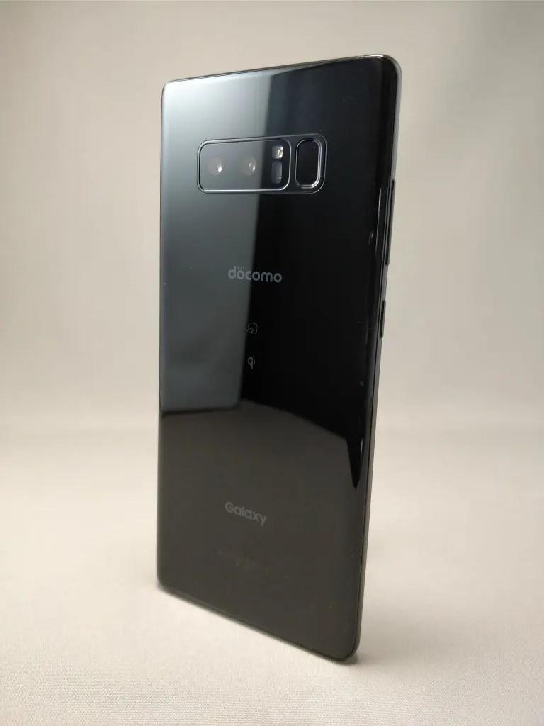 Galaxy note 8 裏 ブラック9
