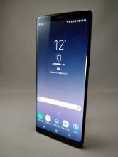 Galaxy note 8 表 ブラック 3