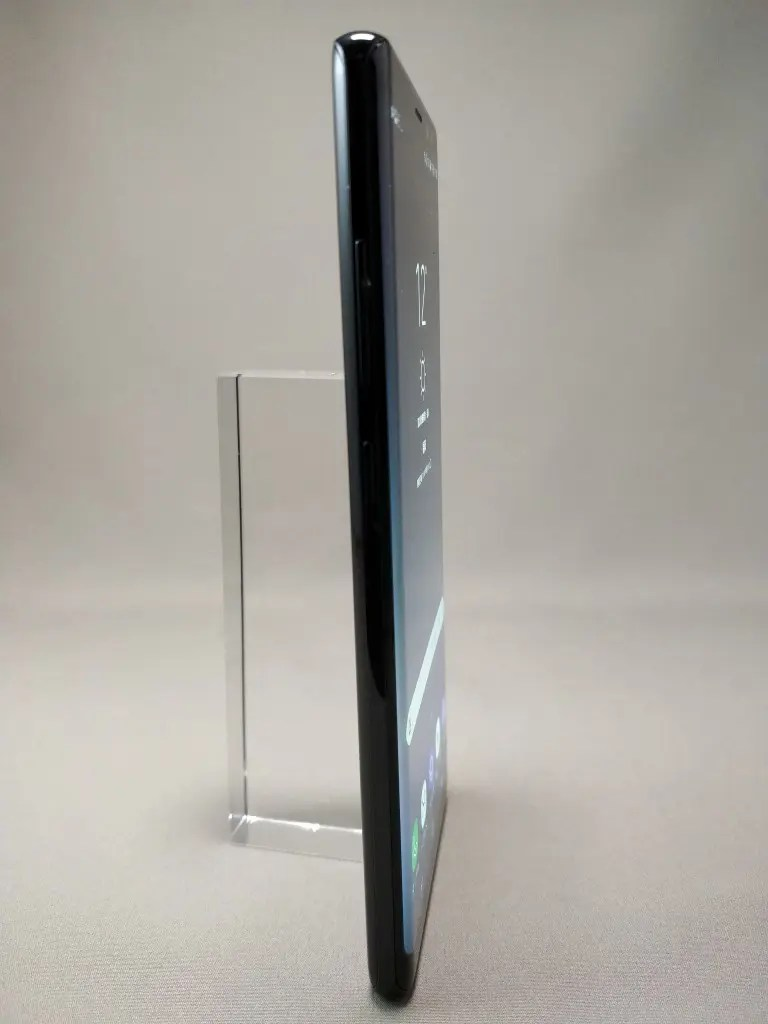 Galaxy note 8 表 ブラック 11