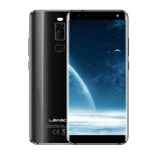 tomtop LEAGOO S8 MTK6750T 1.5GHz 8コア BLACK(ブラック)