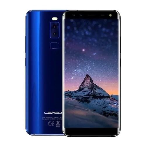 tomtop LEAGOO S8 MTK6750T 1.5GHz 8コア BLUE(ブルー)