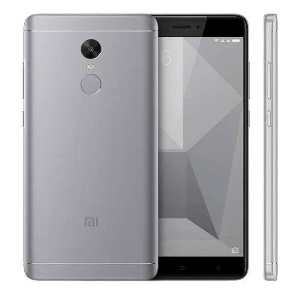 banggood Xiaomi Redmi Note 4X Snapdragon 625 MSM8953 2.0GHz 8コア,MediaTek Helio X20 2.3GHz Deca Core GRAY(グレイ)