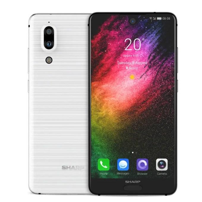 banggood SHARP S2 Snapdragon 630 SDM630 2.2GHz 8コア WHITE(ホワイト)