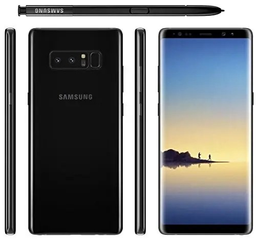 Galaxy Note 8 N9500 Snapdragon 835 MSM8998 2.35GHz 8コア ,N950FD Exynos 8895 2.3GHz 8コア EMEA