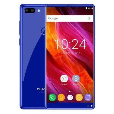 gearbest Oukitel MIX 2 MTK6757V Helio P25 2.39GHz 8コア BLUE(ブルー)