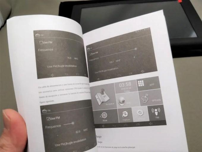 KKmoon 9inch Tablet 開封 付属品 取説