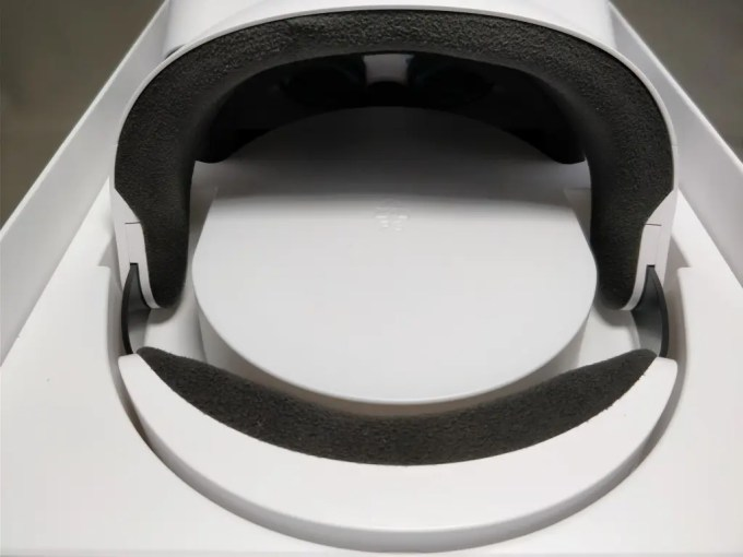 Xiaomi VR 3D Glasses  開封 後ろ