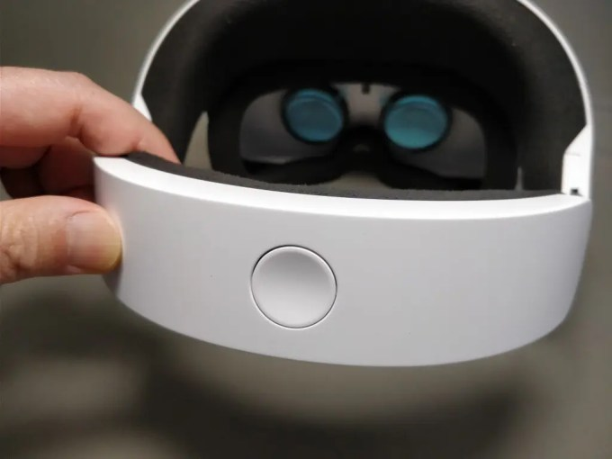 Xiaomi VR 3D Glasses  ボタン