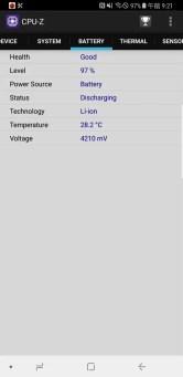 Galaxy note 8 au SCV37 CPU-Z 4