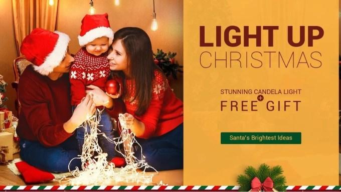 GearBest ライトアップ クリスマス