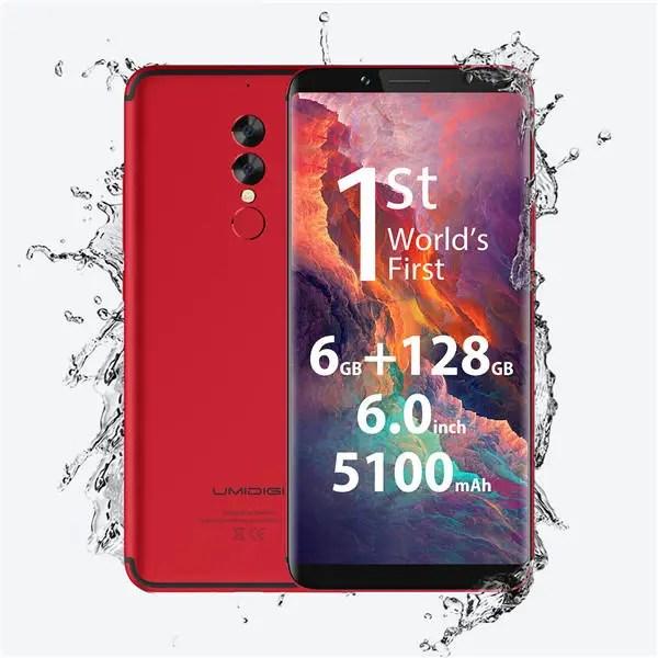 banggood UMIDIGI S2 Pro MTK6757T Helio P25 2.5GHz 8コア RED(レッド)