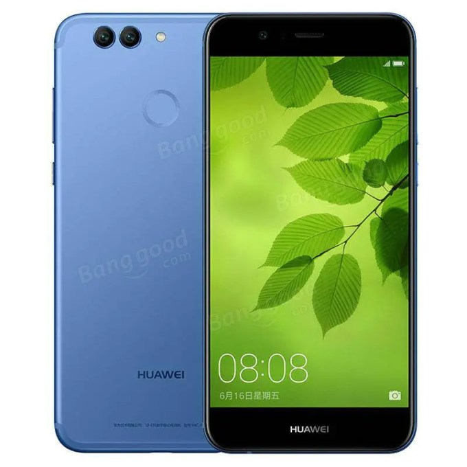 banggood HUAWEI Nova 2 (PIC-AL00) Kirin 659 2.36GHz 8コア BLUE(ブルー)