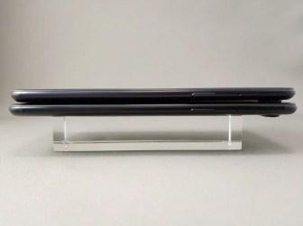OnePlus 5Tと旧機種OnePlus 5 外観比較 側面右
