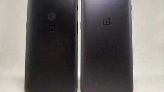 OnePlus 5T レビュー  外観比較・ベンチマーク