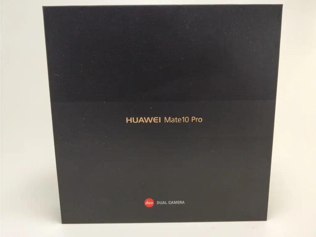 Huawei Mate 10 Pro 化粧箱 表