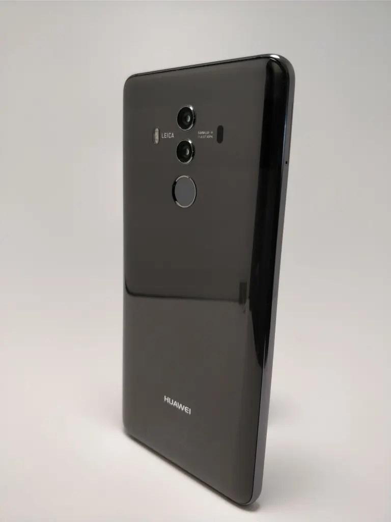 Huawei Mate 10 Pro 裏 8