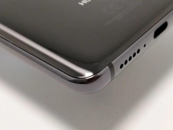 Huawei Mate 10 Pro 裏斜め ズーム