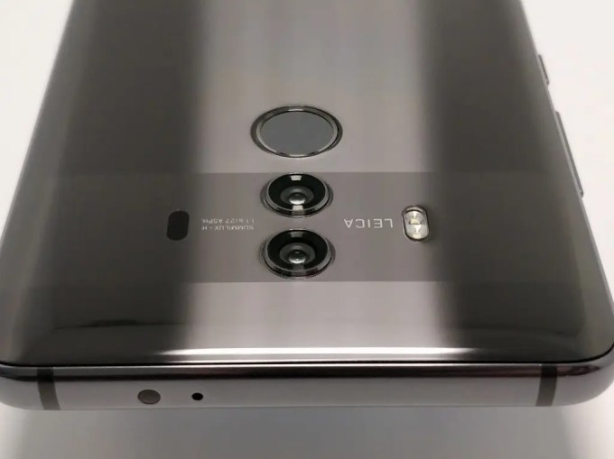 Huawei Mate 10 Pro デュアルカメラ 上2