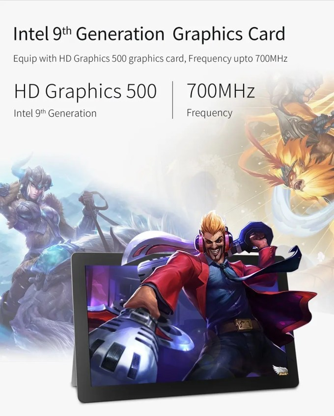 Jumper EZpad 6 Plus HD Graphics 500