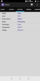 OnePlus 5T CPU-Z 5