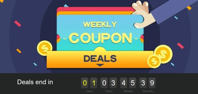 Weekly Coupon deals