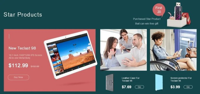 Teclast On Sale 3