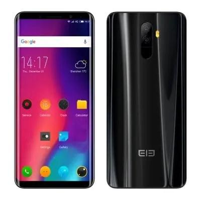 gearbest Elephone U MTK6763T 2.0GHz 8コア BLACK(ブラック)