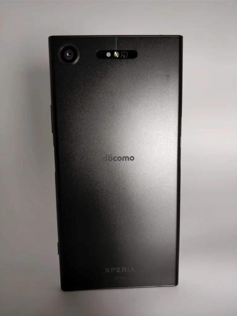 Sony Xperia XZ1 裏1