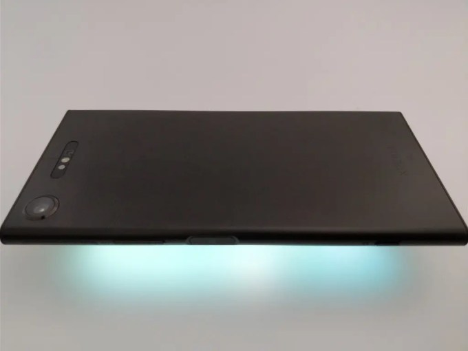 Sony Xperia XZ1 裏 ライトアップ横